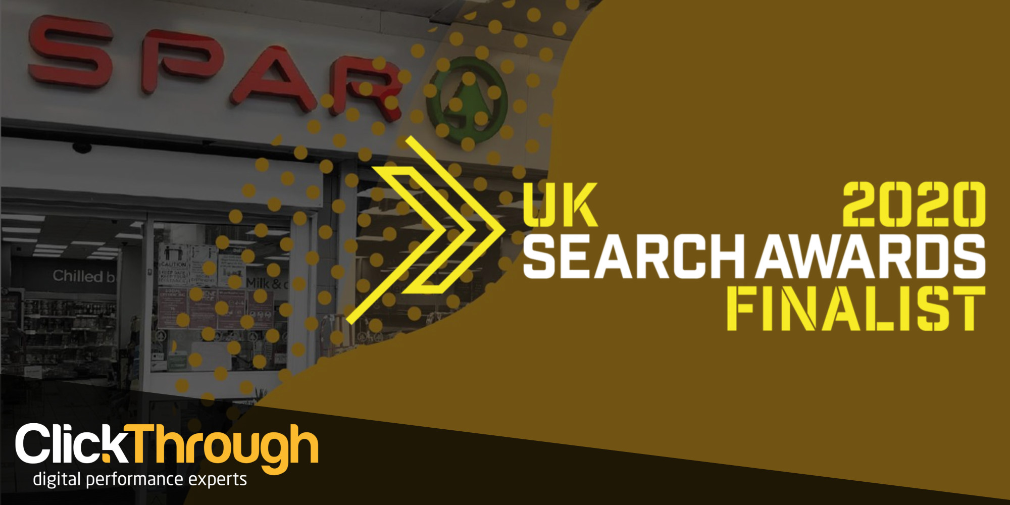 ClickThrough and SPAR Reach The Finals of The UK Search Awards 2020